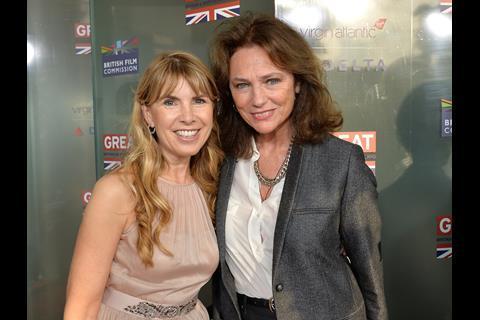 Producer Julia Verdin and Jacqueline Bisset